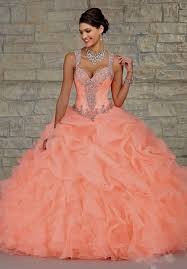 orange quinceanera dresses quinceanera dresses pink and orange naf dresses