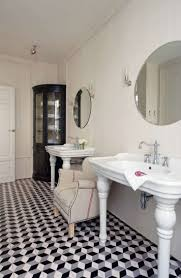 best images about black white bathroom pinterest glazed geometric black white bathroom interiors google search