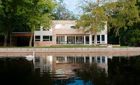 modern lake retreat mansion in new jersey by res4 homesthetics
