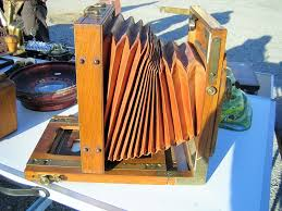 chambre appareil photo appareil photographique à soufflet en bois chine puces