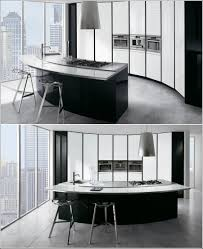 design your kitchen in black and white decoration trend