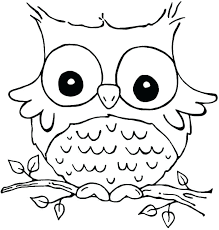 Cute Printable Coloring Pages Owl Coloring Sheets Printable Owl Color Pages
