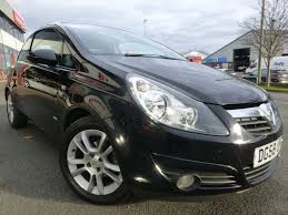 vauxhall corsa used black vauxhall corsa for sale cheshire