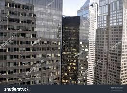 view office window skyscraper downtown calgary stock photo view from office window of skyscraper in downtown calgary