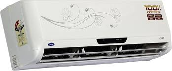 carrier 2 ton 3 star split ac esko white amazon in home u0026 kitchen