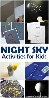 fun night sky activities for kids creative family fun