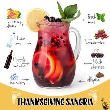 colorful cocktails thanksgiving sangria painting with a twist