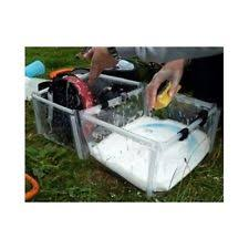 Portable Camping Sink Kitchen by Camping Kitchen Sink Foldable Double Wash Basin Compact Portable