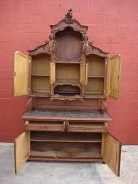 antique buffet antique hutch sideboard server cabinet german