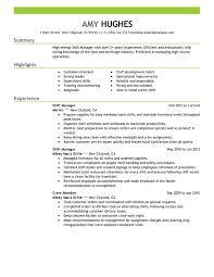 Food Service Resume Sample by 20 Fast Food Job Description Resume Kens Resume Doc Sample