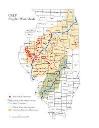 Illinois River Map Conservation Reserve Enhancement Program