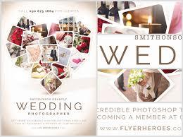 wedding flyer wedding photographer flyer template flyerheroes