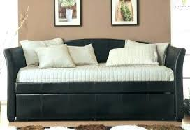 Black Daybed With Trundle Daybed With Trundle And Storage Black Daybed With Trundle And