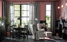 How To Divide A Room With Curtains by Ikea Ideas