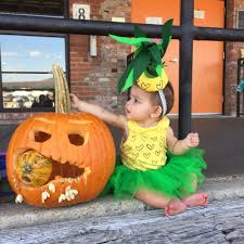 baby s first halloween costume baby pineapple mia kai u0027s first halloween costume u2014 jitney u0027s