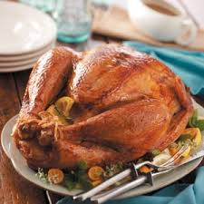 lemon herb roasted turkey recipe taste of home
