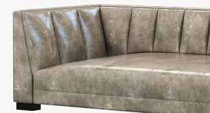 modern furniture knockoff living room wayfairestate restoration hardware leather sofa