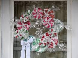 candy wreath peppermint candy wreath crafts by amanda