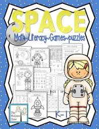 space activity pack set k 1 math literacy games puzzles centers