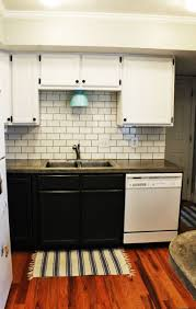 kitchen how to install a subway tile kitchen backsplash installin