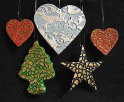 ornaments beeswax rubber sts