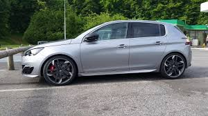 peugeot nouvelle new peugeot 308 gti surfaces on the net ahead of its debut