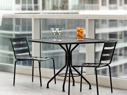 exterior interesting black metal patio furniture by woodard furniture