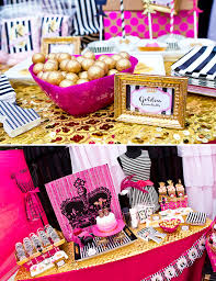 Gold And Pink Party Decorations Glitter U0026 Glam Favorite Things Party Birthday Hostess