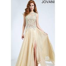 jovani wedding dresses jovani 89464 in light gold prom jovani dress 2017 new wedding