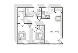 Garden Floor Plan Townhomes And Apartments For Rent In Leesville La