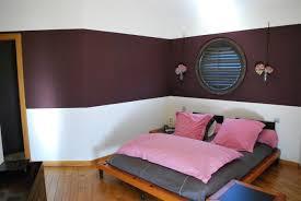 Couleur De Peinture Pour Une Chambre by Peindre Un Mur En 2 Couleurs Sur Idees De Decoration Interieure Et