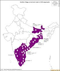 India State Map by How Politics And Religious Dogma Deny Eggs To India U0027s Severely