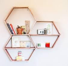Diy Honeycomb Shelves by 27 Best Półka Plaster Miodu Images On Pinterest Hexagon Shelves