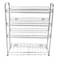 modular stainless steel kitchen rack by lalit kitchen racks