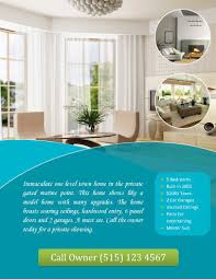 free flyer designs 14 free flyers for real estate sell rent
