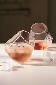 cool glassware drink a diamond glass set diamond glass and awesome stuff