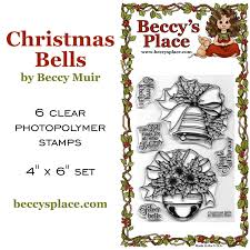 beccy u0027s place new release christmas bells set