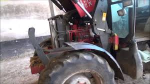 changing a fuel filter on a mccormick cx95 tractor part 2 youtube
