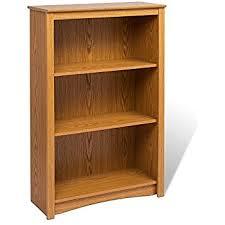 Oak Bookcases With Drawers Amazon Com Midas Six Shelf Double Bookcase 36