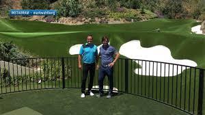 mark wahlberg u0027s backyard golf facility golf channel