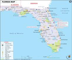University Of Miami Map by Florida Map Map Of Florida Usa