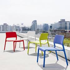 Outdoor Furniture Made From Recycled Materials by Contemporary Chair Stackable Made From Recycled Materials