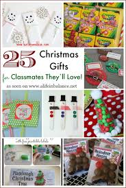 25 christmas gifts for classmates they u0027ll love