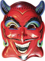 horse head mask spirit halloween feb173136 ghoulsville fun house devil vac tastic plastic mask