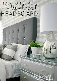 Bed Headboard Ideas Diy Upholstered Headboard With A High End Look Diy Upholstered