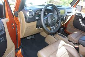 Jeep Wrangler Leather Interior The 2011 Jeep Wrangler Changes Inside And Out The Fast Lane Car