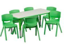 daycare table and chairs preschool furniture ebay
