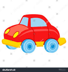 car toy clipart red toy car blue wheels windows stock vector 664469635 shutterstock