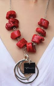 coral necklace images New genuine chunky coral necklace tommie hernandez png
