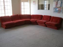 vladimir kagan piece sectional sofa vintage 70s mid century modern